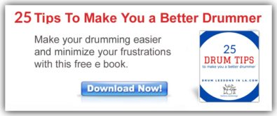 25 Drum Tips To Make You a Better Drummer free drumming book
